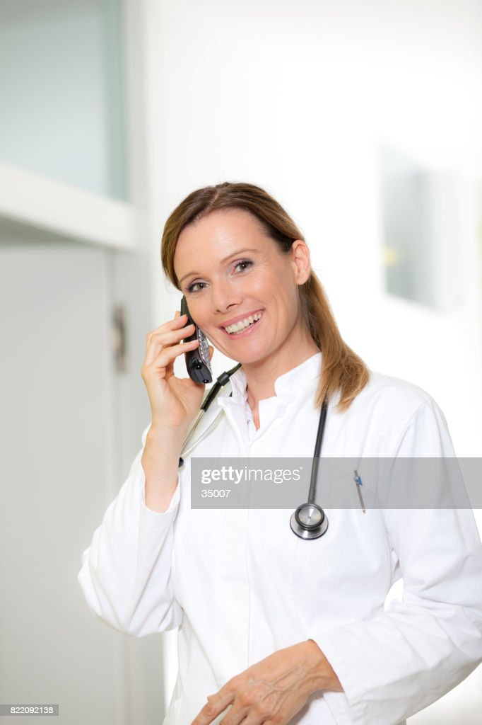 smiling doc : Stock Photo