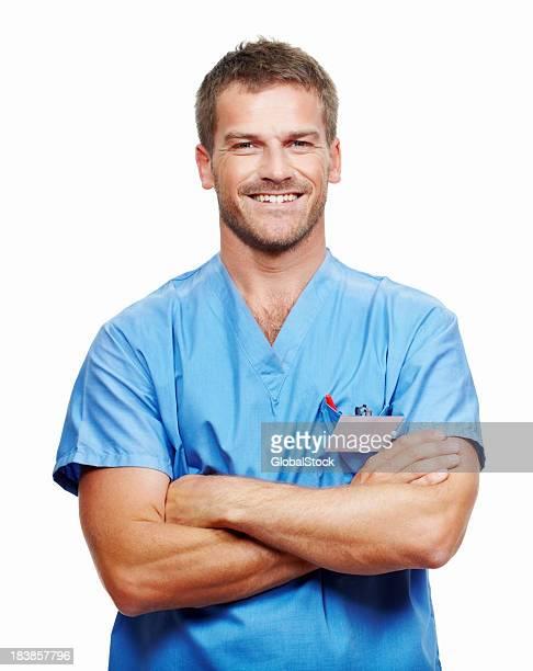 Sonriendo médico