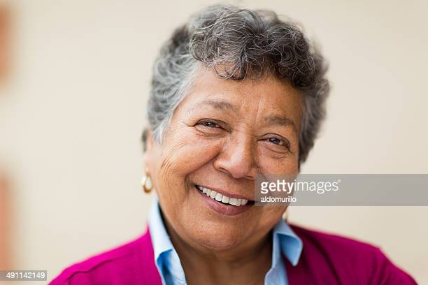 smiling elderly woman - latin american and hispanic stock pictures, royalty-free photos & images
