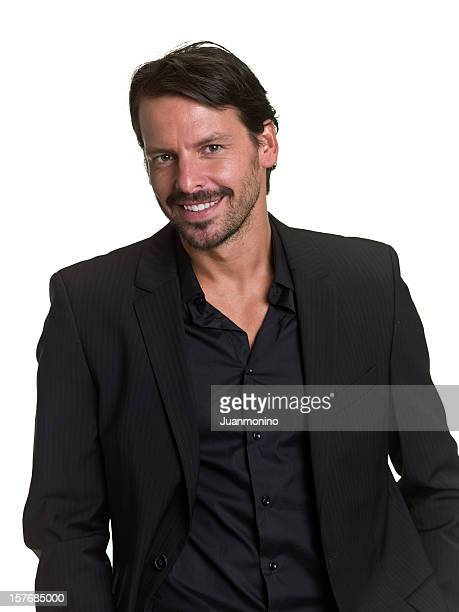 smiling executive - handsome mexican men stock pictures, royalty-free photos & images