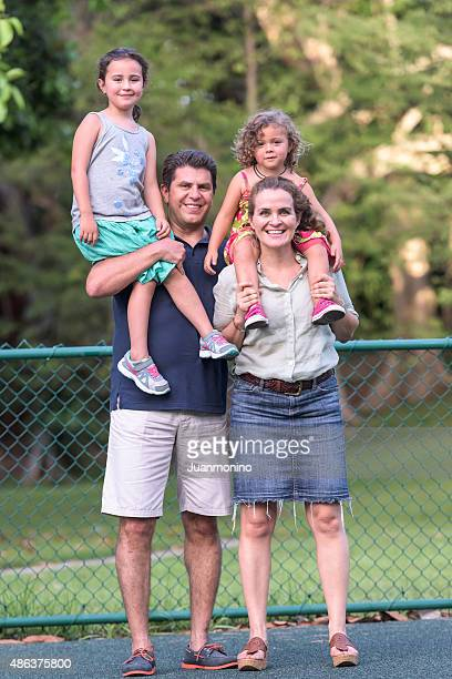 Lächeln Familie