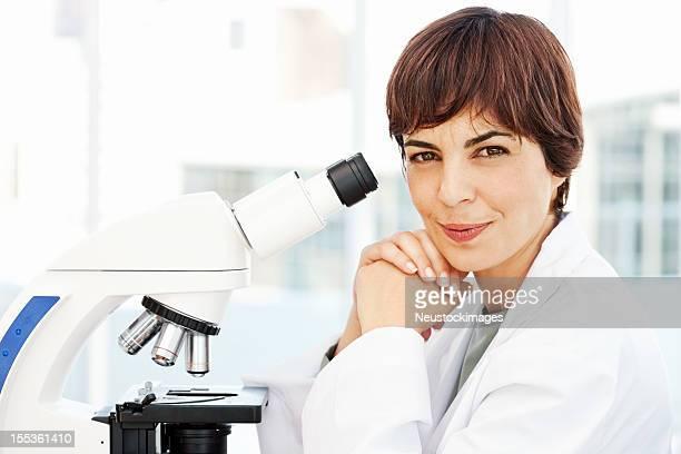 Smiling Female Pathologist
