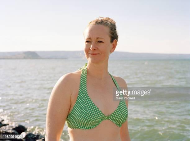 In bikini mature The over