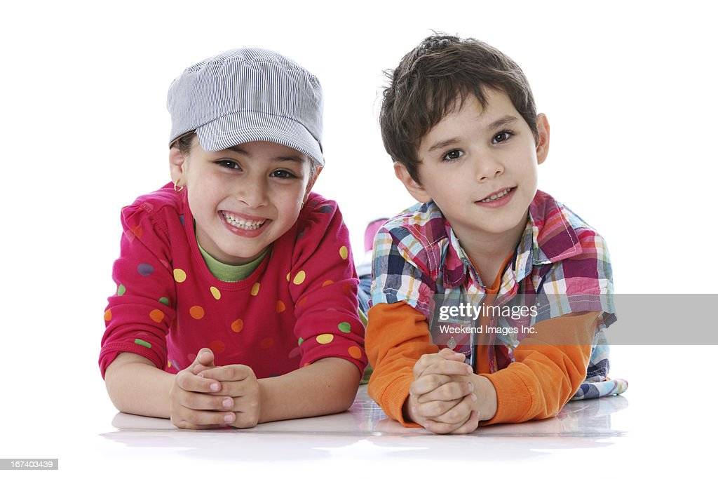 Lächelnd Freunde : Stock-Foto
