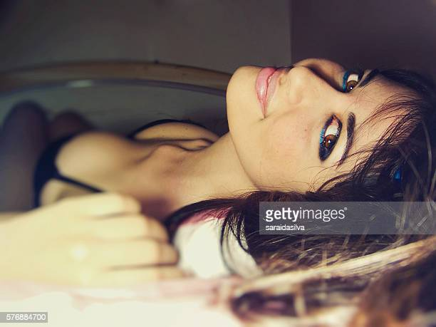 smiling girl - child super models stock pictures, royalty-free photos & images
