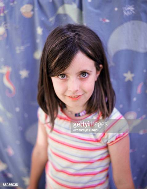 smiling girl - jessamyn harris stock pictures, royalty-free photos & images