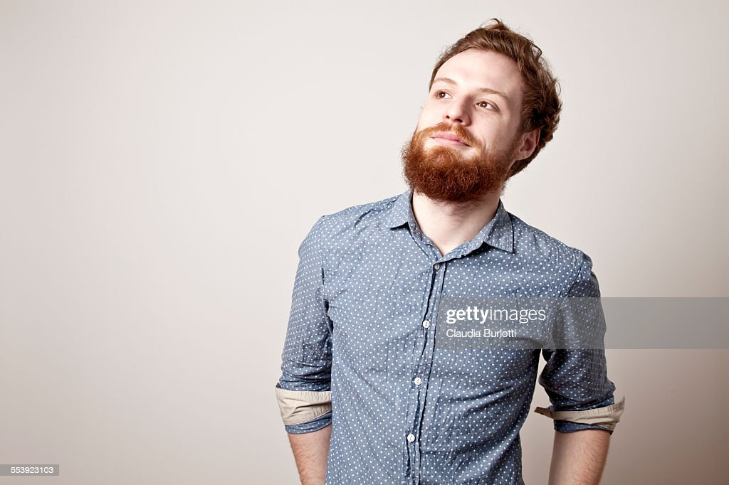 Smiling guy : Stock Photo