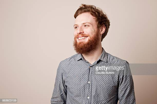 smiling guy - facial hair stock pictures, royalty-free photos & images