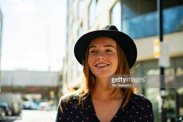 smiling happy young woman - influencers stock pictures, royalty-free photos & images