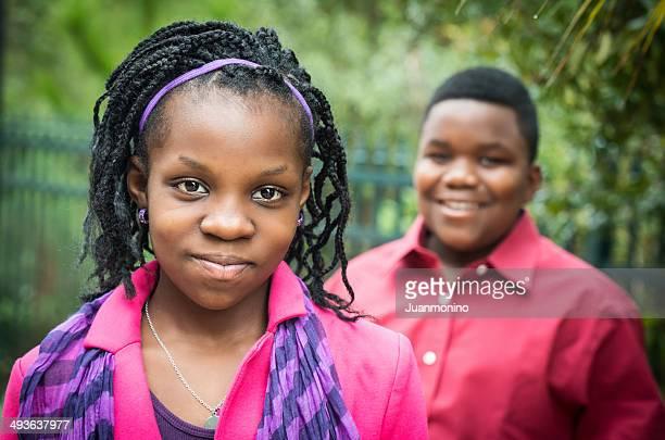 Smiling kids (11-12 yrs)