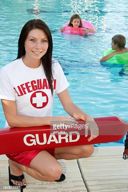 Smiling Lifeguard