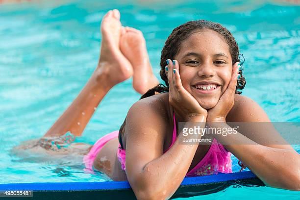 Lächeln kleine Mädchen