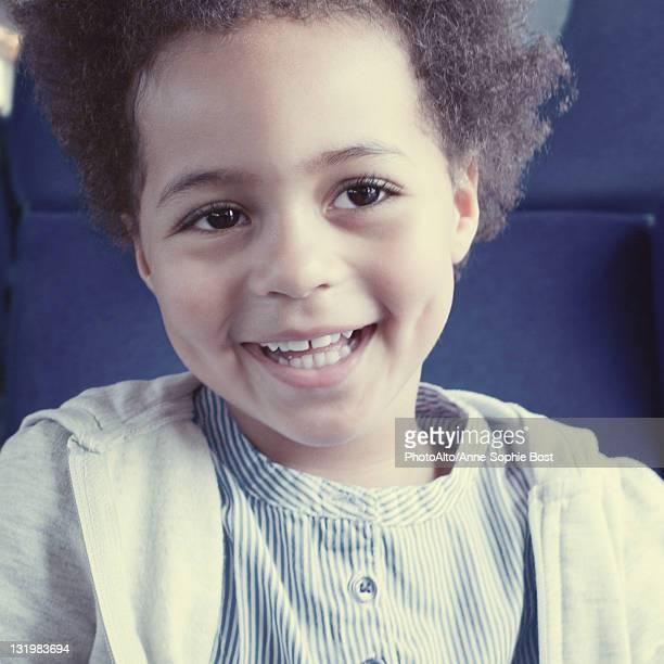 Smiling little girl, portrait