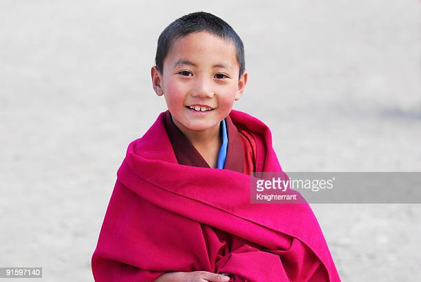 Smiling Little Monk