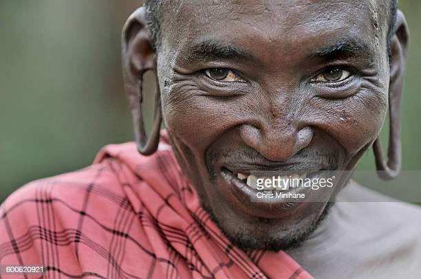 Smiling Maasai Warrior