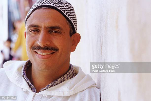 Smiling Man in Marrakech