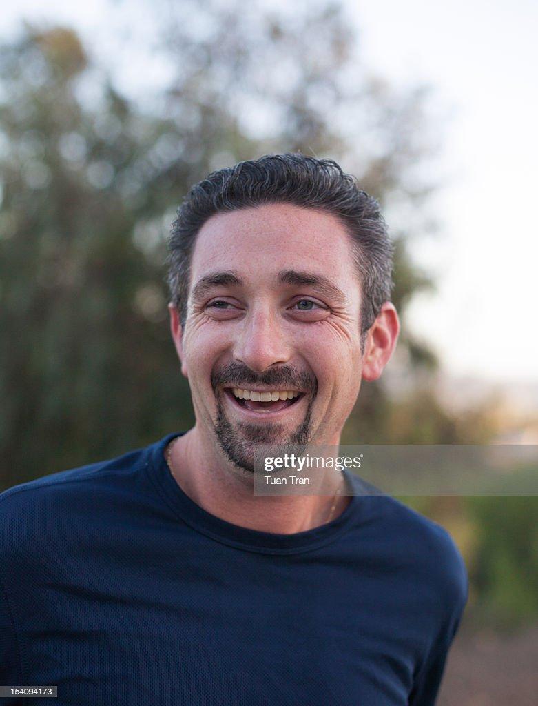 Smiling man : Stock Photo