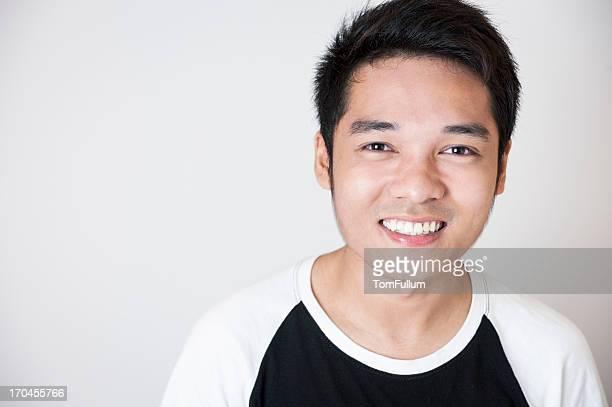 Sorridente Homem