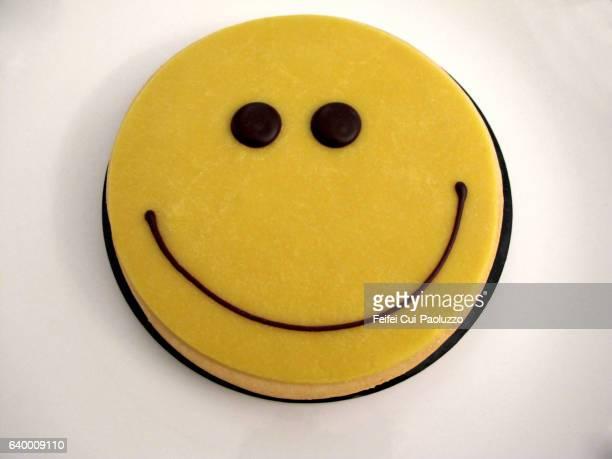 Smiling Marzipan Cake