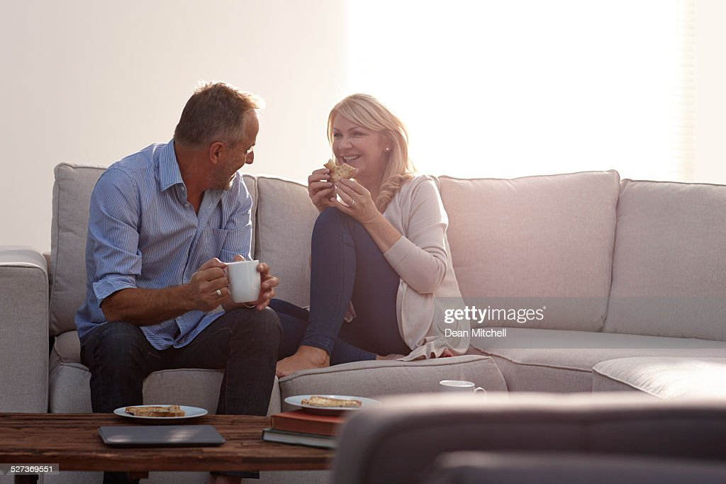 from Sage characture older couple having coffee