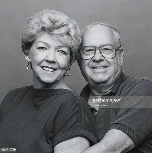 smiling mature couple - headhunters stock pictures, royalty-free photos & images