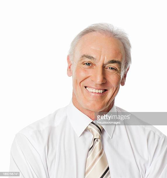 Smiling Mature Male Professional - Isolated