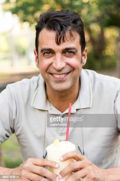 smiling mature man - israeli men stock photos and pictures