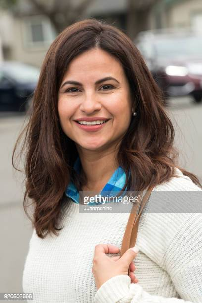 smiling mature woman - israeli ethnicity stock pictures, royalty-free photos & images