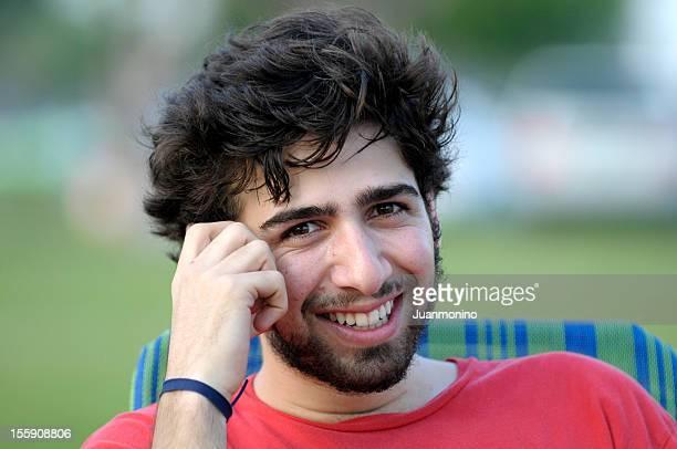 笑顔中東大学の学生 - イラン人 ストックフォトと画像