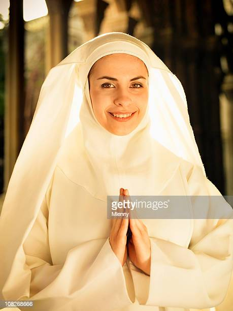 smiling now - nun stock pictures, royalty-free photos & images