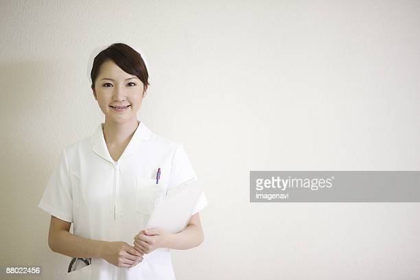 A smiling nurse
