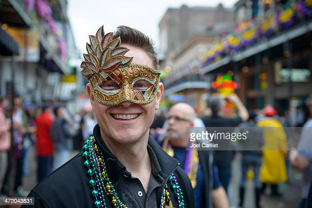 Smiling on Bourbon Street in New Orleans