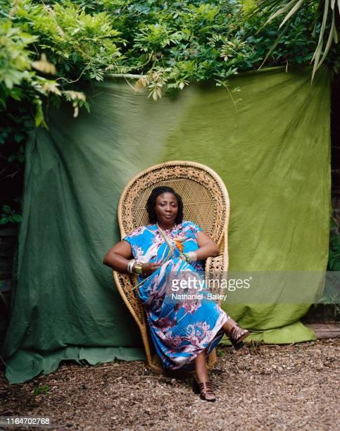 A smiling portrait of a Black women