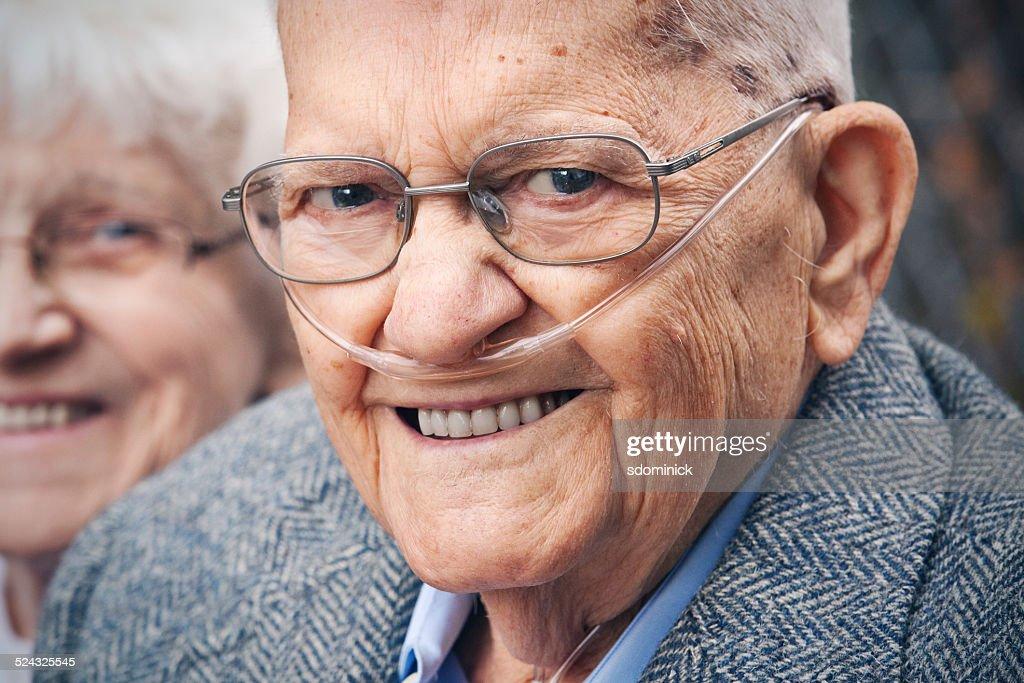 Smiling Senior Man : Stock Photo