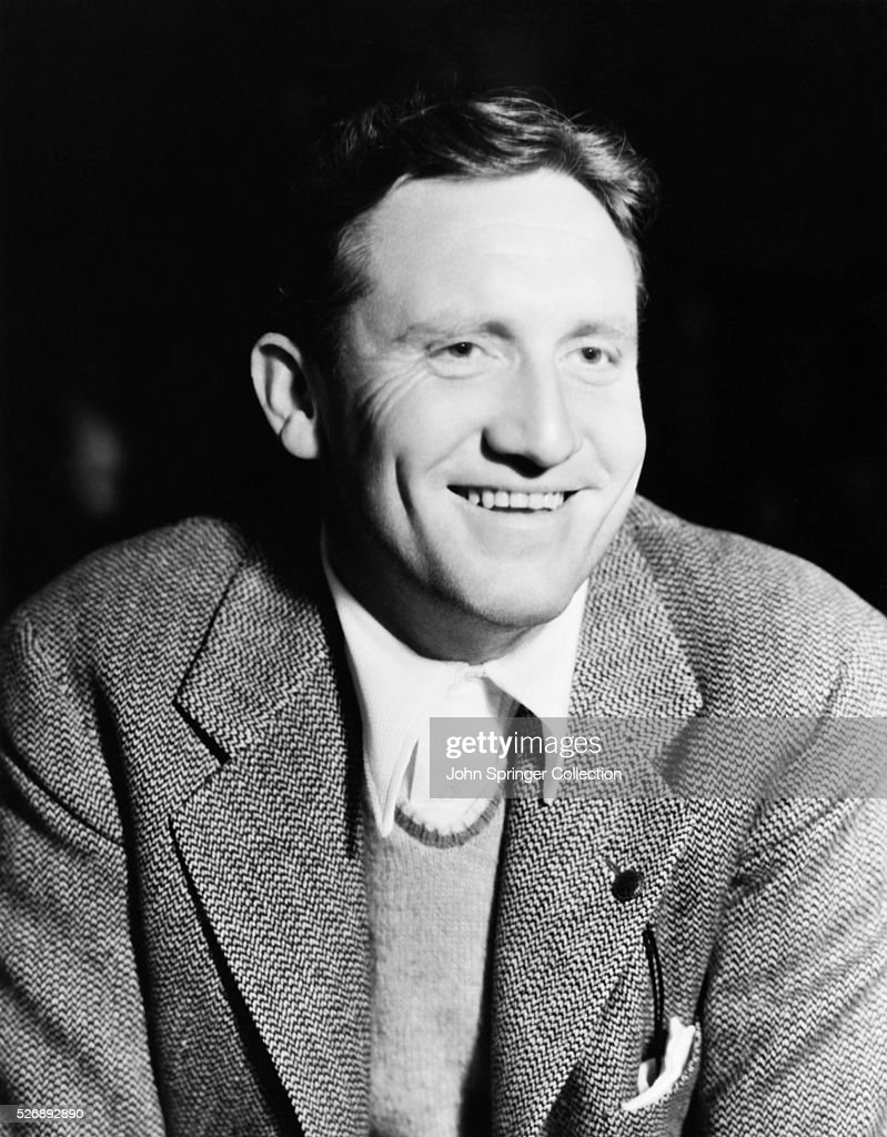 Actor Spencer Tracy Smiling : News Photo
