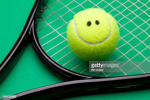 Smiling Tennis Ball