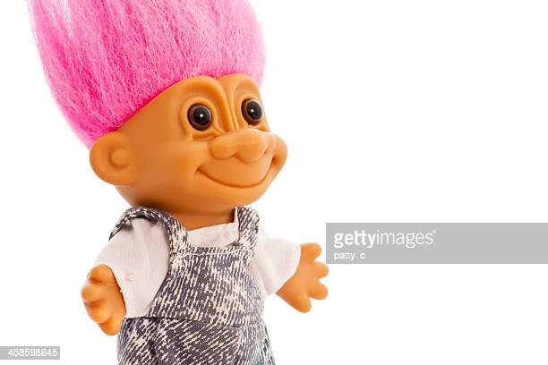 smiling troll - troll stock photos and pictures