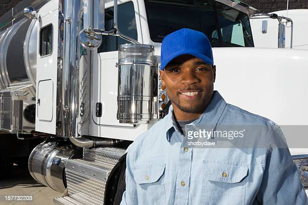 Smiling Truck Driver