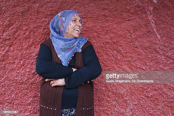 Smiling Turkish-Kurdish woman (Diyarbakir, Turkey)