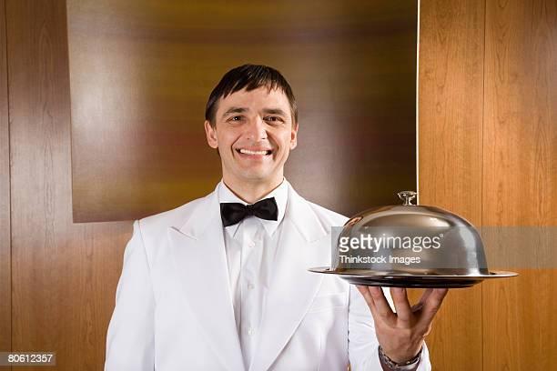 Smiling waiter