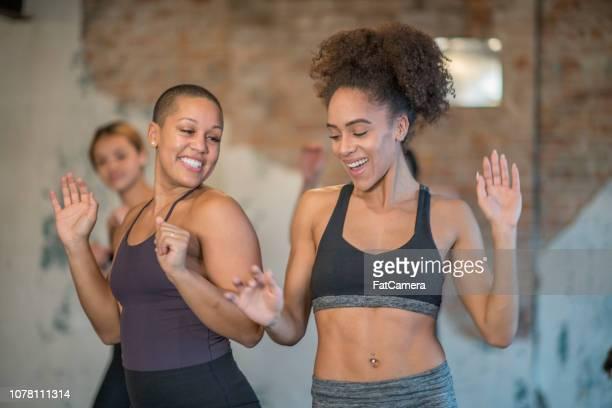 Smiling Women Dancing