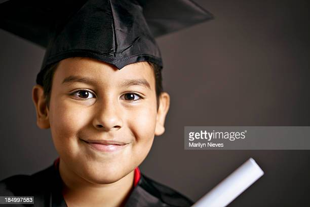 smiling young graduate