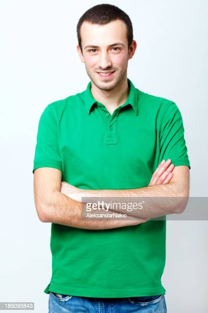 Lächelnden junger Mann
