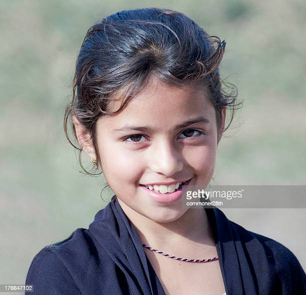 smilling angel - pakistan girl stock photos and pictures