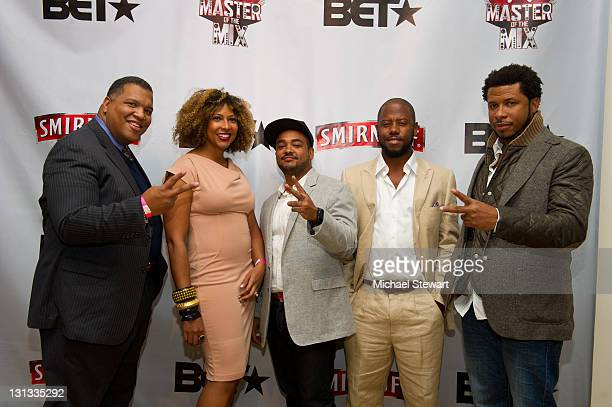 Smirnoff brand director David Tapscott Diageo brand manager Erin Chin GTM cofounder Karl Carter Anthony Marshall and GTM cofounder Kembo Tom attend...