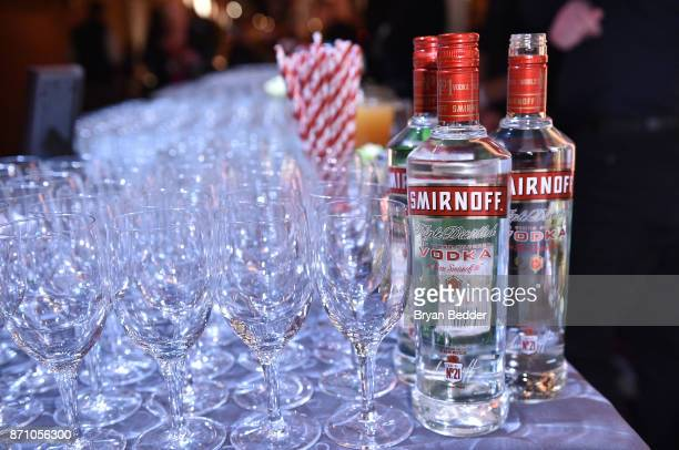 Smirnoff on display at 2017 New York Taste at The Waterfront Building on November 6 2017 in New York City