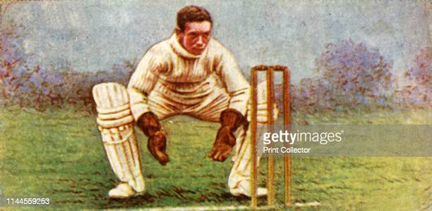 """Smith ', 1928. From """"Wills's Cigarettes - A Series of 50 Cricketers, 1928"""", [W. D. & H. O. Wills, London, 1928]. Artist Unknown."""