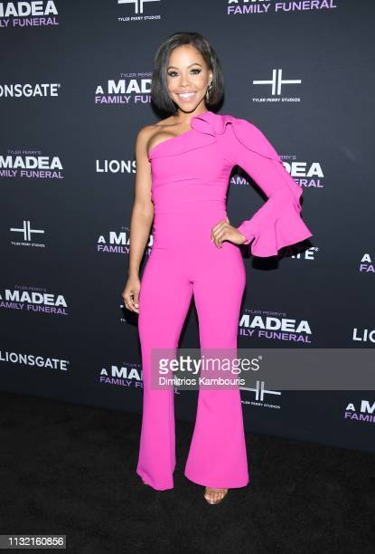Smith attends a screening for Tyler Perry's A Madea Family Funeral at SVA Theater on February 25 2019 in New York City