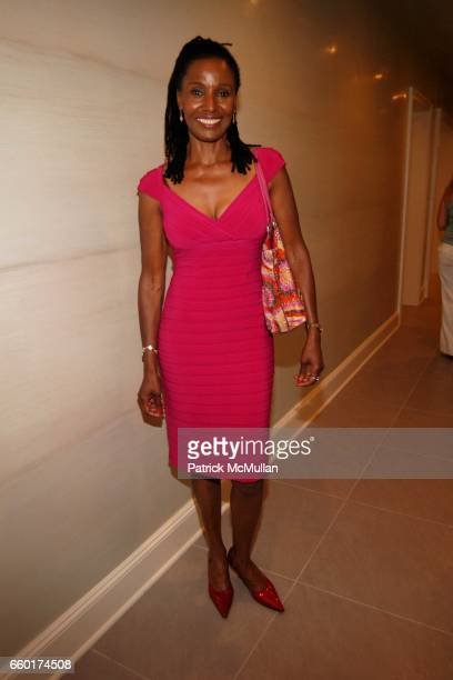Smith attends The 2009 Hampton Designer Showhouse at Private Residence on July 25 2009 in Southampton New York