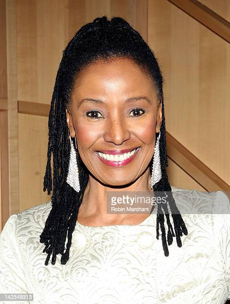 B Smith attends the 43rd Annual Amas Musical Theatre gala at the Baruch Performing Arts Center on April 2 2012 in New York City